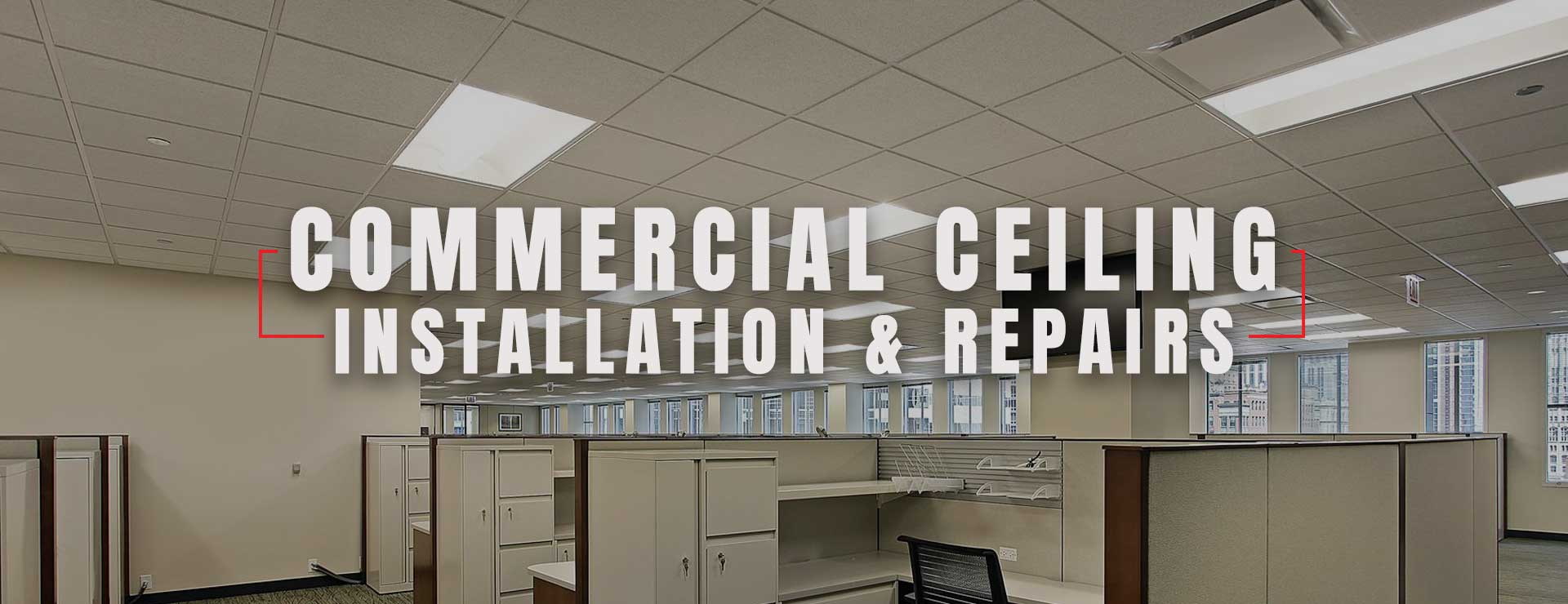 Commercial Drop Ceiling Installation