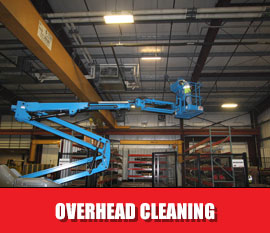 Overhead Structure Cleaning